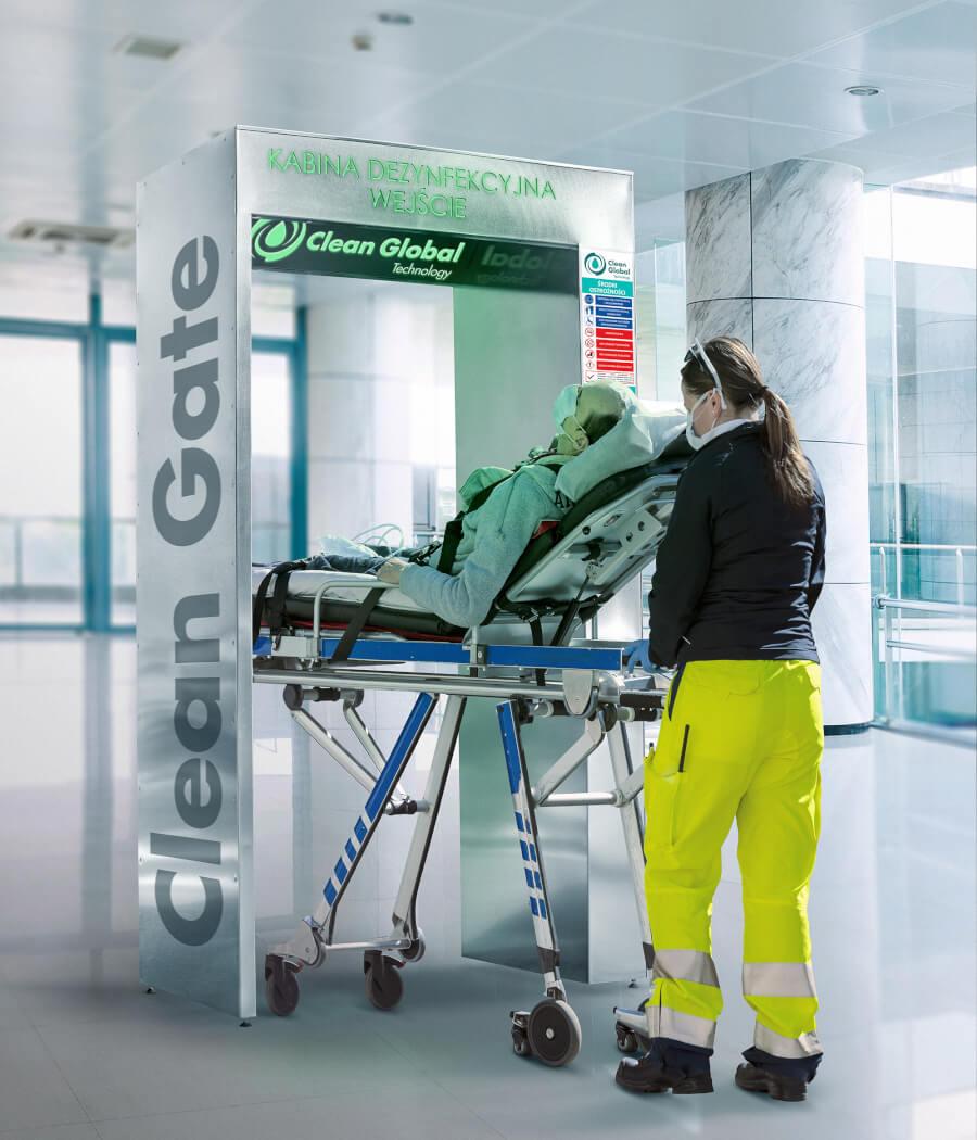 Urządzenia do dezynfekcji pacjentów