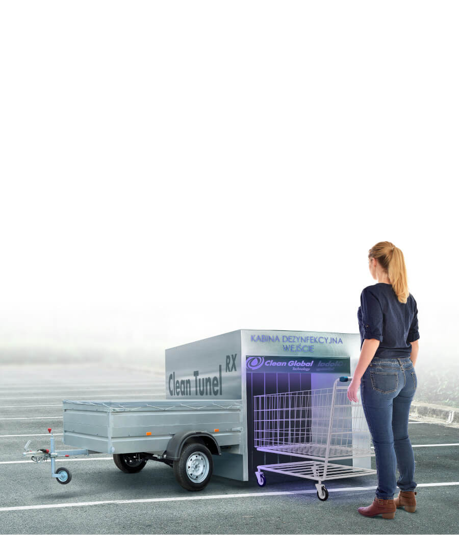 Mobile disinfection device